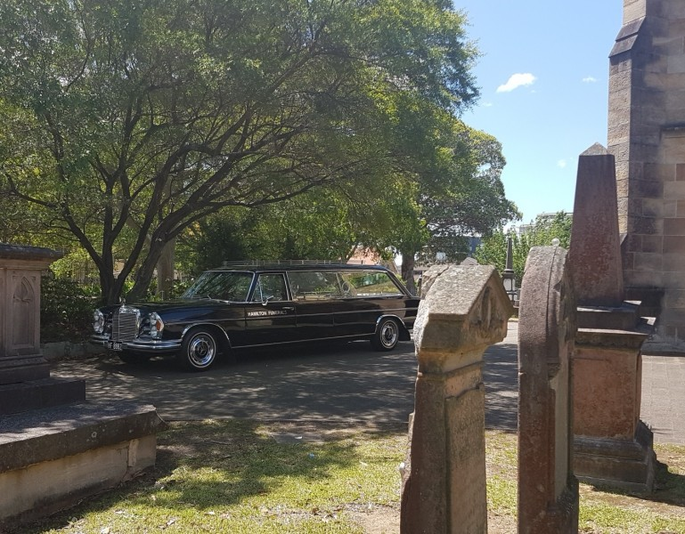 Mourning Cars and Hearses